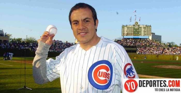 Cuauhtemoc Blanco en el estadio Wrigley Field de los Cubs de Chicago
