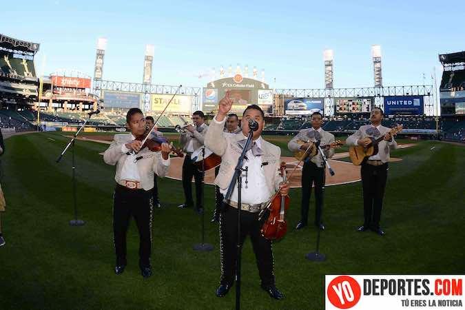 Mariachi Monumental de Mexico White Sox contra Arizona Diamondbacks
