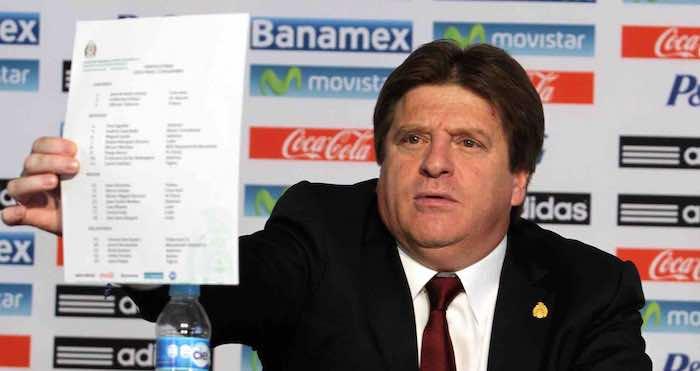 Miguel Herrera comienza este lunes concentración final del Tri rumbo a Brasil 2014