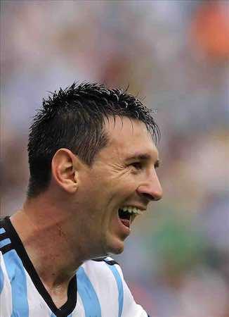 Messi, elegido hombre del partido ante Nigeria. EFE