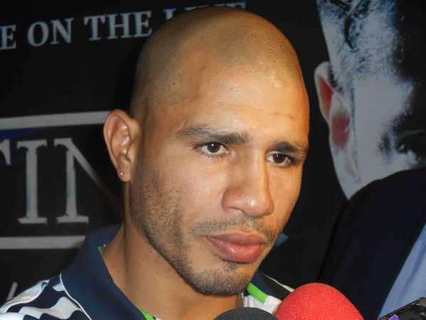 """Miguel Cotto (38-4, 31 nocauts) saldrá favorito ante """"Maravilla"""" Martínez (51-2-2, 28 kos), combate pactado a 12 rounds por el cinturón medio del Consejo Mundial de Boxeo."""