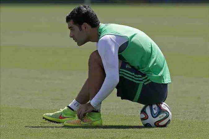 Rafa Márquez es ya el mexicano con más partidos en Copas del Mundo. EFE