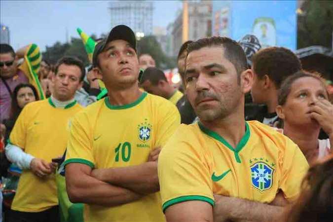 Nadie quiere la camiseta de Brasil tras el Mineirazo. EFE