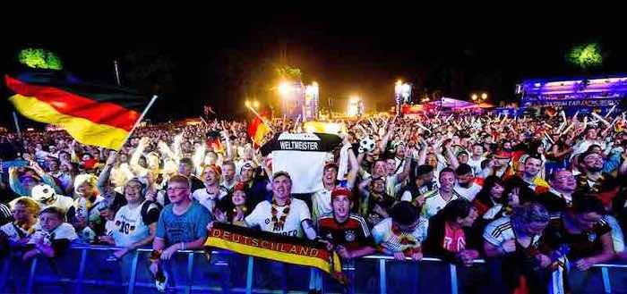 El pase a la final de Alemania pulverizó el récord de audiencia, con 32 millones. EFE