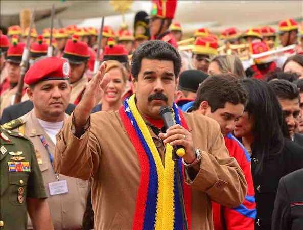 Nicolas Maduro dice que el de Brasil ha sido el mejor Mundial de la historia. EFE