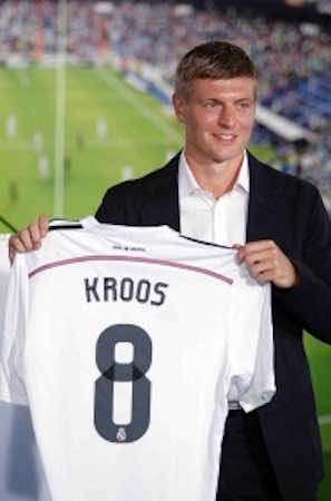 Toni Kroos el refuerzo del Real Madrid. Notimex