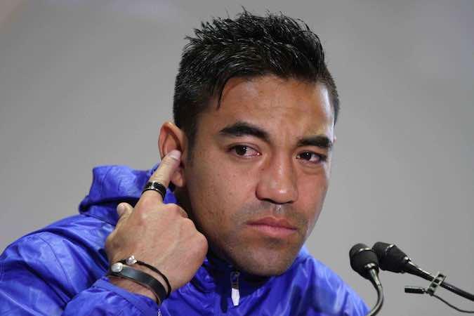 Marcos Fabián rechazó sentirse frustrado por no haber podido emigrar