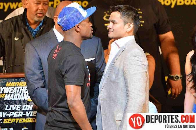 La pelea entre Marcos Maidana y Floyd Mayweather se transmitirá en en 570 salas de cine.