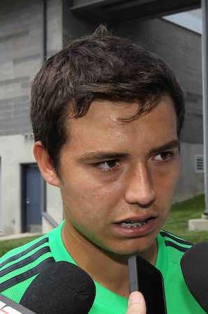 """Erick """"Cubo"""" Torres, listo para debutar con México. Notimex"""