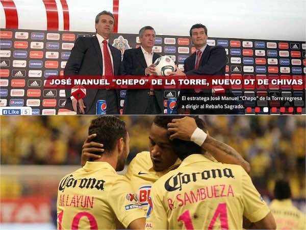"""Partido América-Monterrey y debut del """"Chepo"""" destacan para fecha 13"""