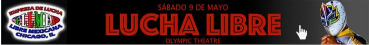 Lucha Libre ELLMEX sábado 9 de mayo olympic theatre cicero