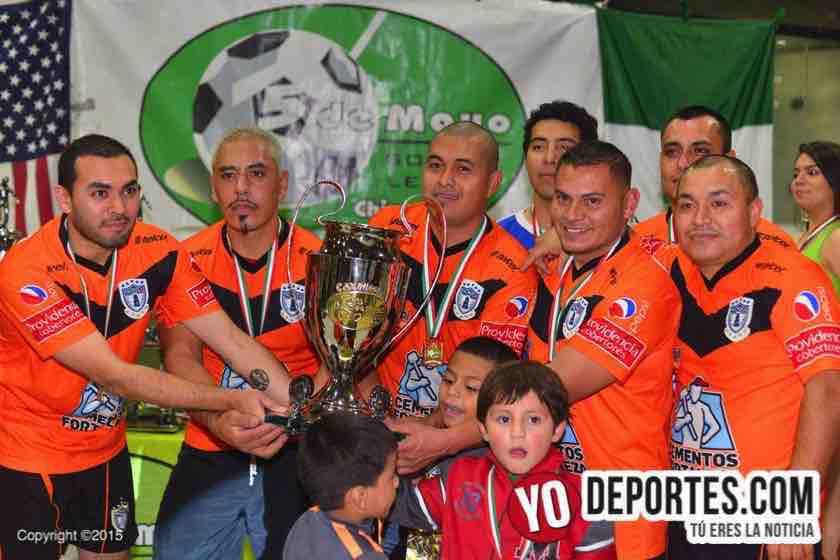 Pachuca contra Mazamitla 5 de Mayo Soccer league
