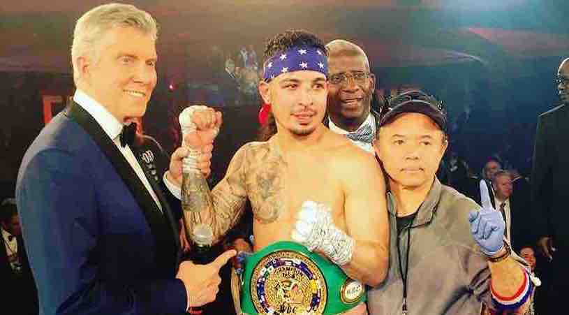 Jimmy Herrera United States WBC champion welterweight