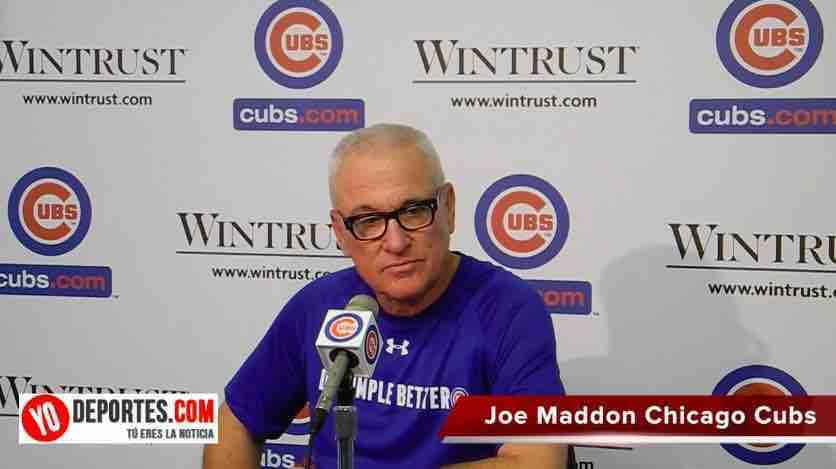 Joe Maddon Manager del Año 2015 con Chicago Cubs