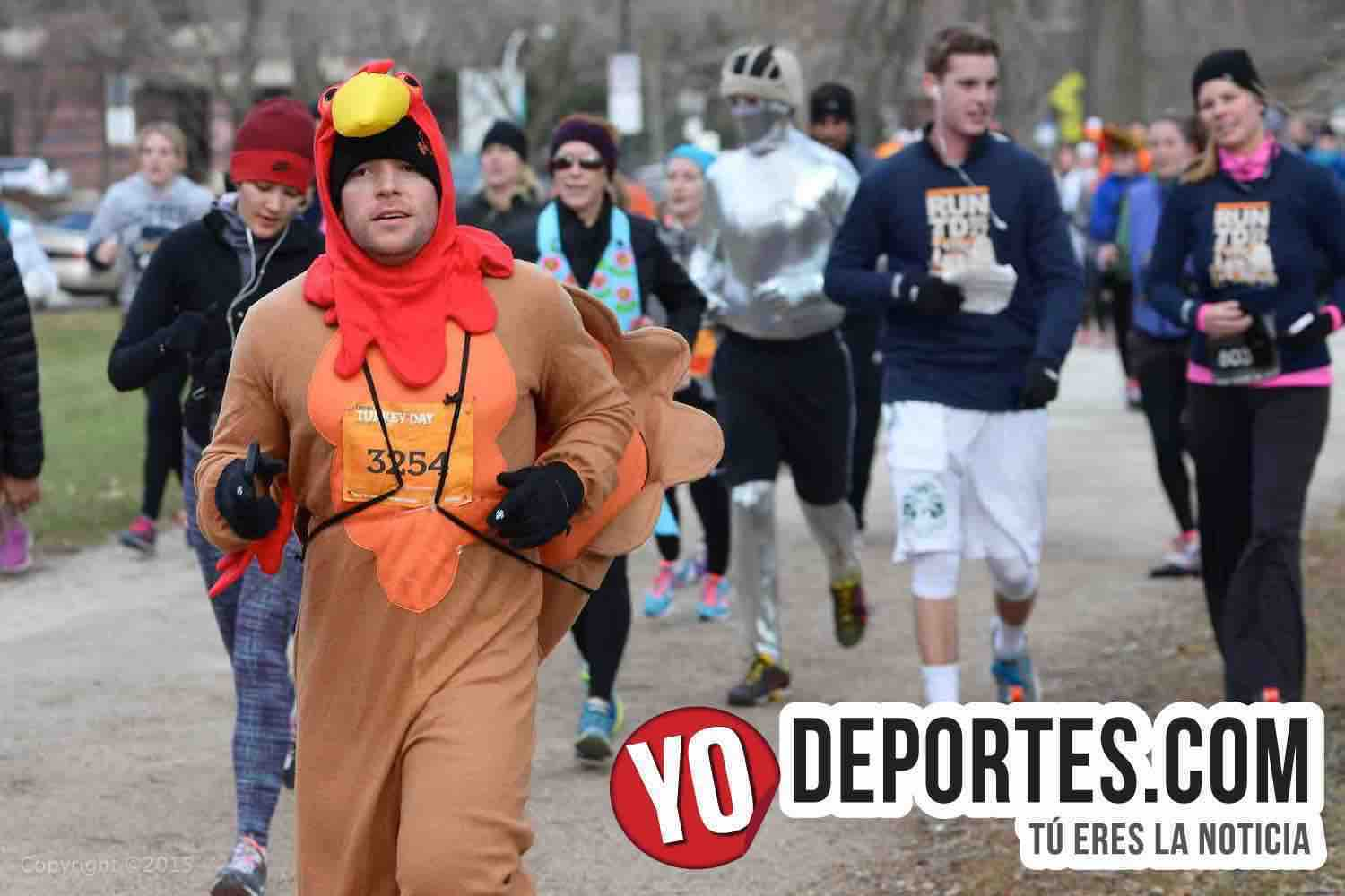 Life Time Turkey Day Run Chicago 5K/8K