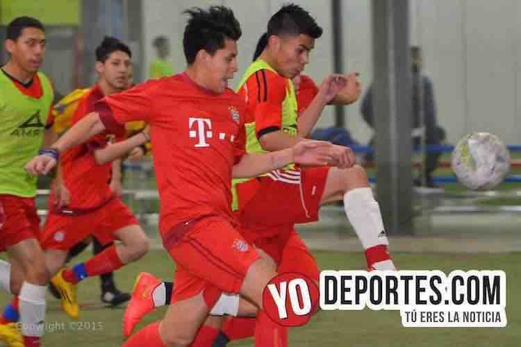 Atletico Yuriria contra Real Sociedad Liga Latinoamericana de Chicago