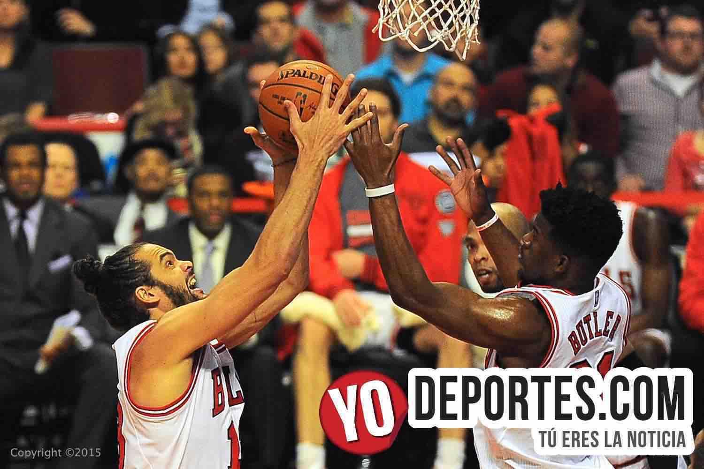Chicago Bulls derrota a San Antonio Spurs