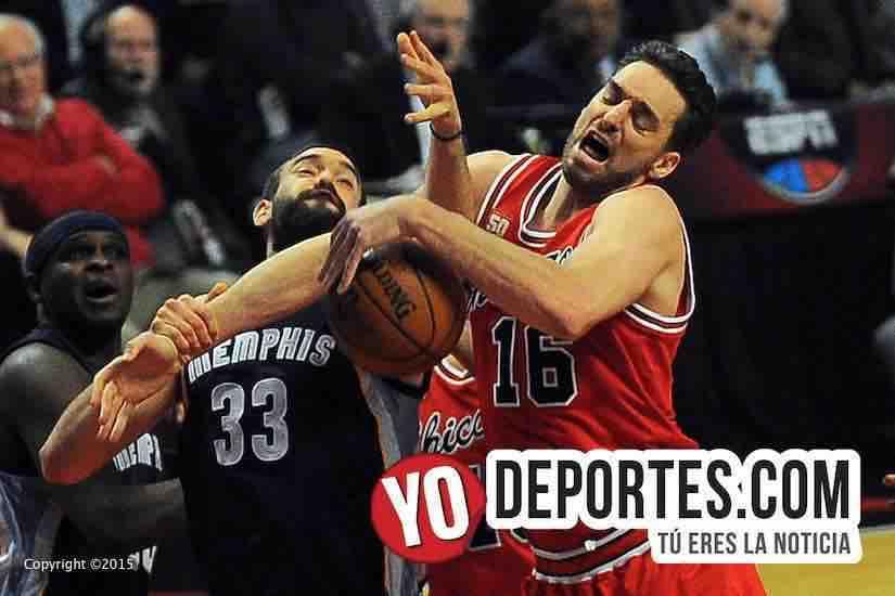 Pau Gasol vs Marc Gasol Chicago Bulls Memphis Grizzlies