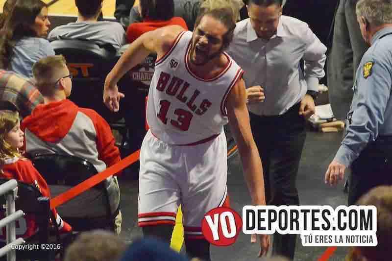 Joakim Noah pudo haber jugado su último juego con los Bulls