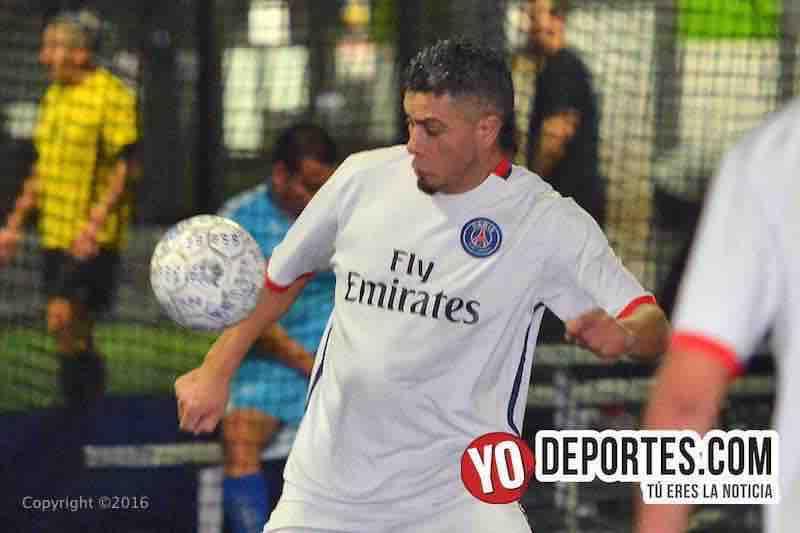 Mauricio Mejia sumo tres goles a su cuenta personal
