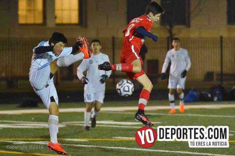 Dynamic FC se impone en amistoso a Chicago Magic.