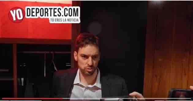 Pau Gasol sobre la derrota contra Hawks de Atlanta