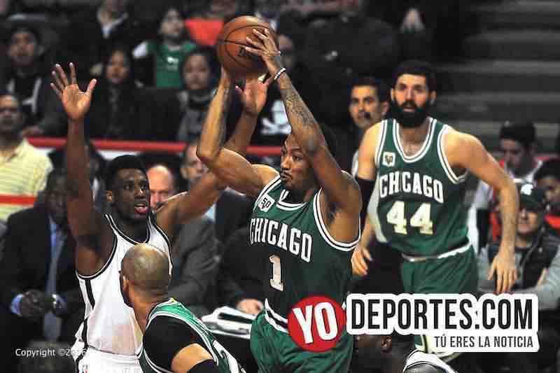 Bulls aplastan a Brooklyn Nets en St. Patricks Day