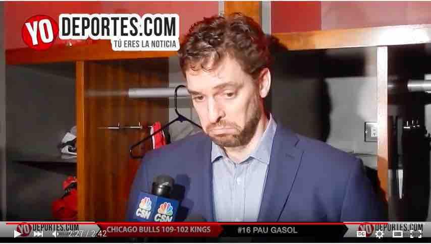 Los Bulls sufren con Sacramento Kings