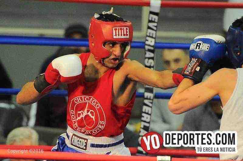 Yousif Saleh vs. Danny Vaz Da Costa Chicago Golden Gloves
