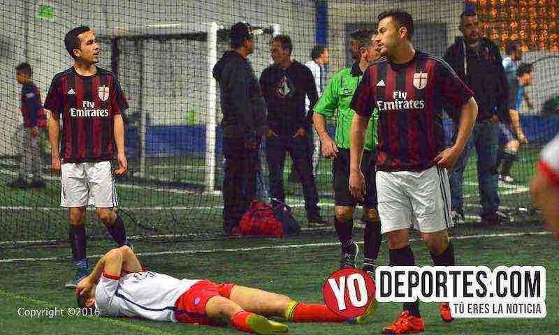 Semifinales definidas en Fuerza Latina Soccer League