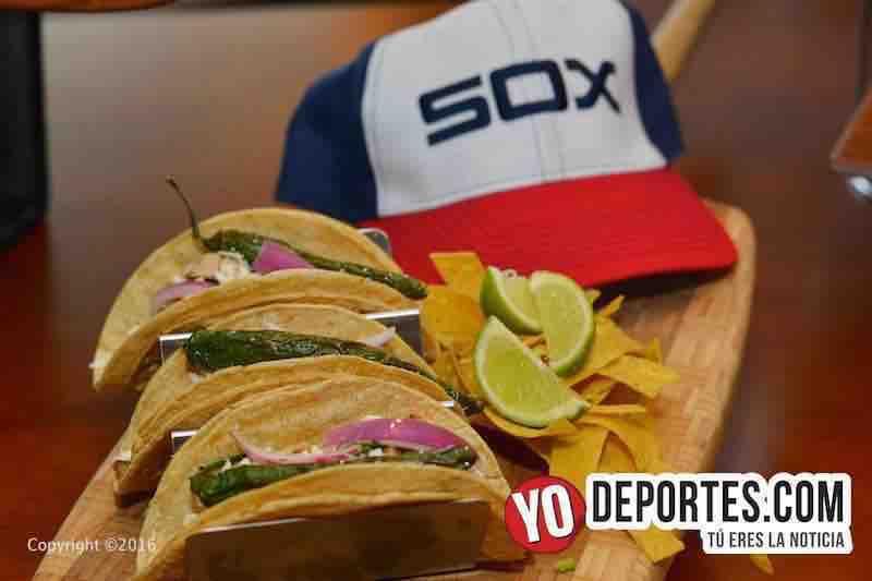 Llegaron los tacos a los White Sox