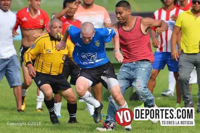 Copa Alianza Chicago termina en bronca