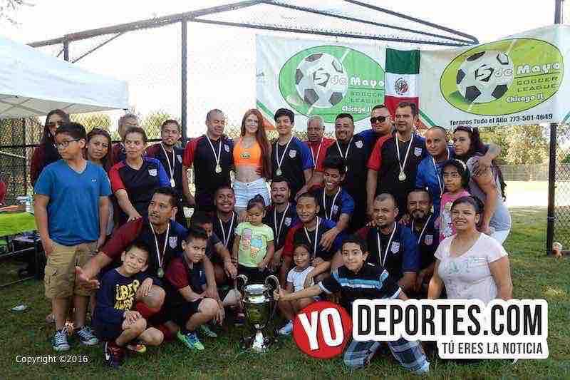 En penales Auto Service Mike gana al Chupicuaro en 5 de Mayo Soccer League