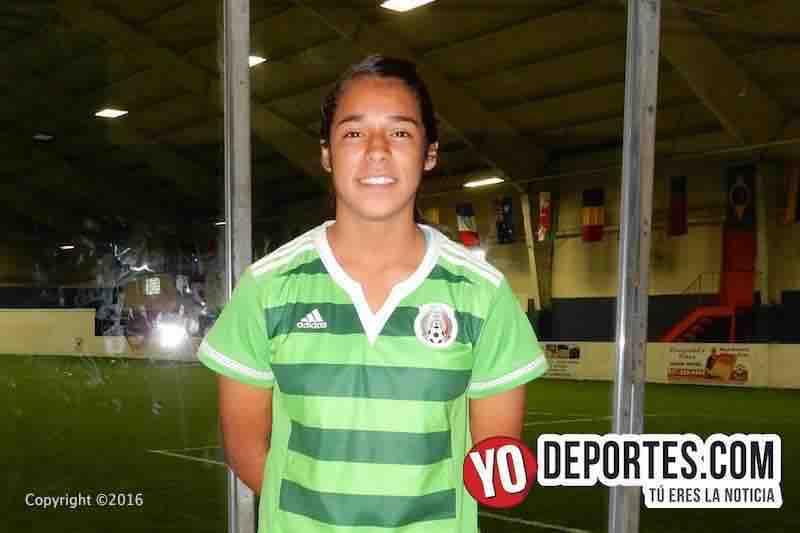 Celiana Torres al Mundial de Jordania Sub 17
