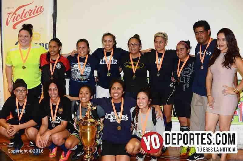 Jerrys Girls las nuevas campeonas de los martes en Chitown Futbol