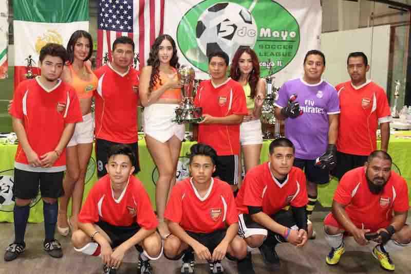 Viernes de campeones en la 5 de Mayo Soccer League