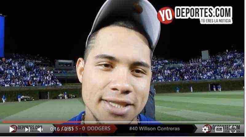 Willson Contreras a la Serie Mundial de la mano de Dios y de su abuelo