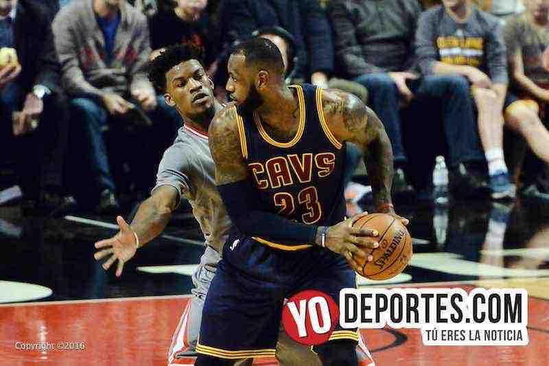 Los Bulls barren a los campeones Cavaliers de Lebron James