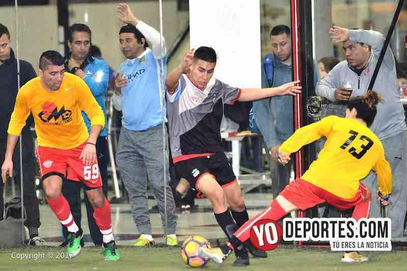 Chicago Mustangs-Victory FC Liga Latinoamericana indoor soccer