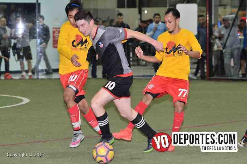 Chicago Mustangs-Victory FC indoor soccer