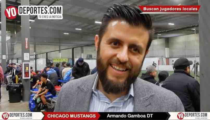 Chicago Mustangs busca talento local para primer equipo