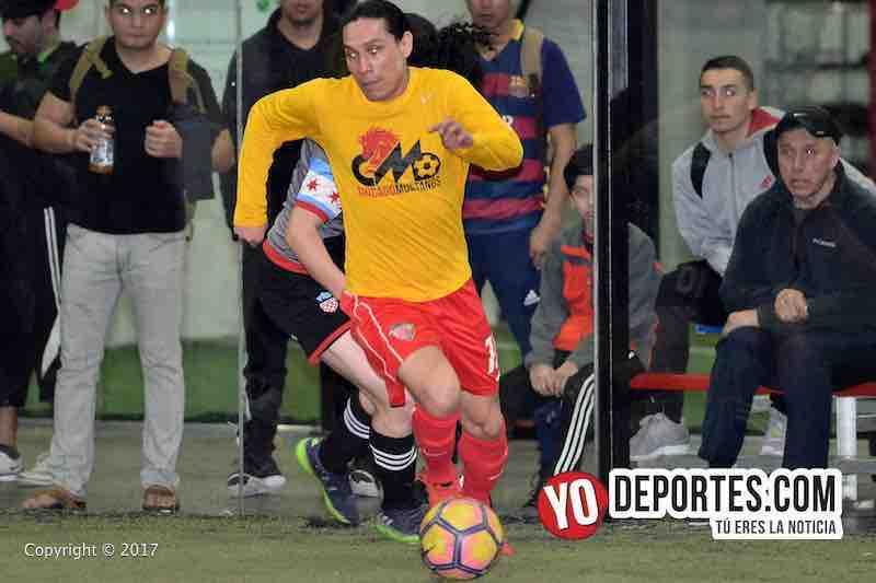 Efrain Martinez Chicago Mustangs-Victory FC