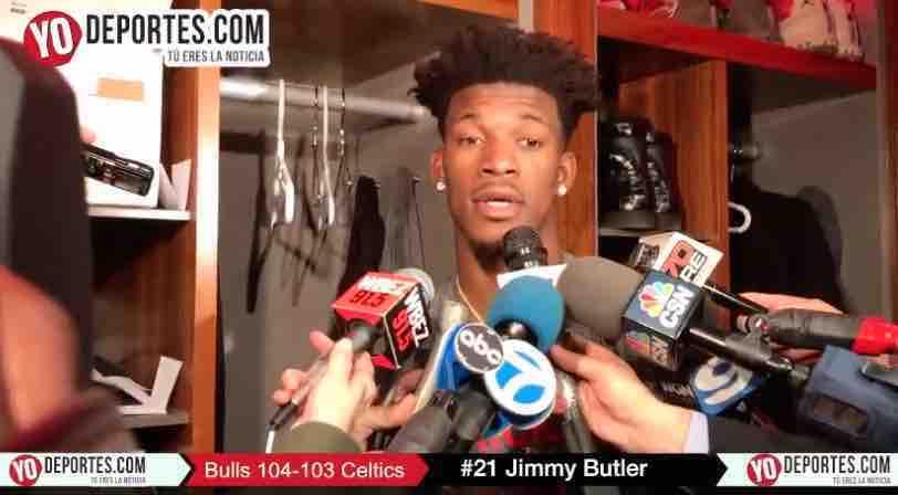 Jimmy Butler y los Bulls derrotan a los Celtics de Boston