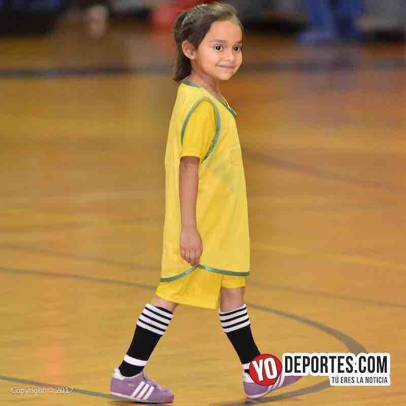 Scarlet Martinez-Liga Diablitos juega su primer partido de futbol