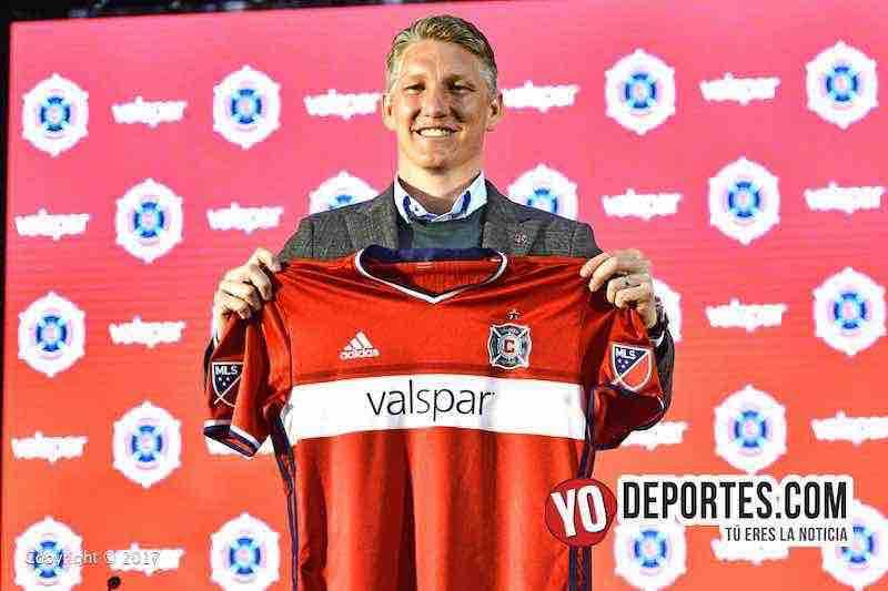 Chicago Fire presenta al alemán Bastian Schweinsteiger