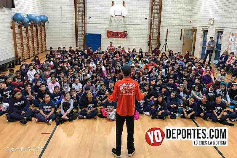 Diego Estrada-Chicago Shamrock Shuffle 2017 escuela Hurley elementary