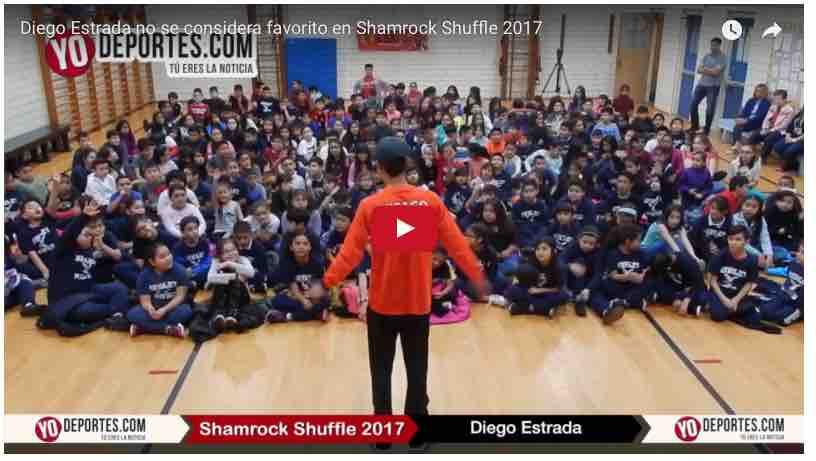Olímpico Diego Estrada motiva a cientos de niños latinos de Chicago