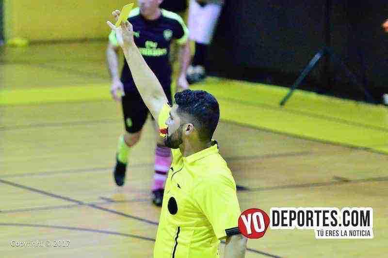 Arbitro Alexander Cruz-Arsenal-Inseparables A-Liga San Jose