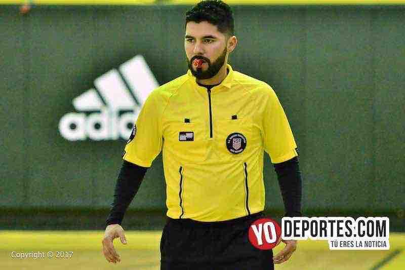 Arbitro Alexander Cruz semifinal Arsenal contra Juventus Liga SanJose