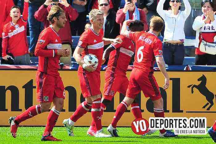 Bastian Schweinsteiger debuta con gol-Chicago Fire